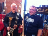 Newell Sheridan from Sheridan Brass & Tampa Bass Bone Expert Chris Lundquist!